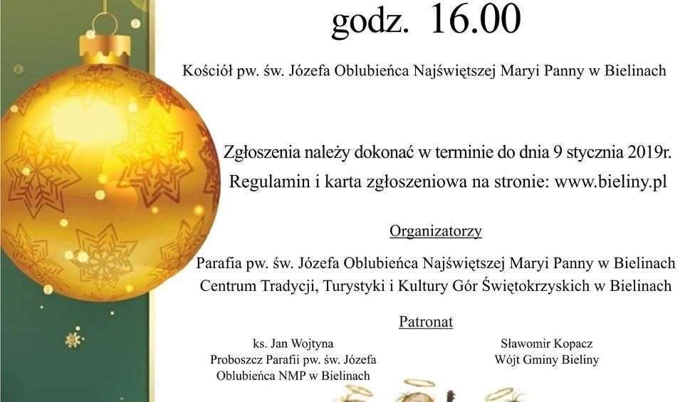 """Film do artykułu: """"Wieczór Kolęd"""" w kościele świętego Józefa Oblubieńca NMP w Bielinach"""