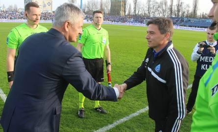Dariusz Wdowczyk i Waldemar Fornalik.