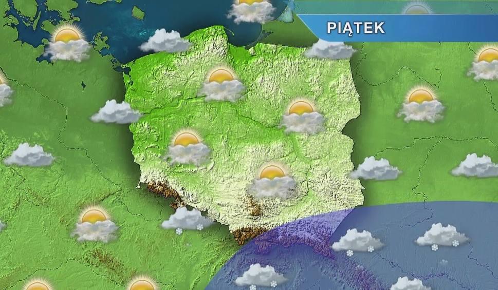 Film do artykułu: Pogoda w Opolu i na Opolszczyźnie. Piątek słoneczny, w górach śnieg