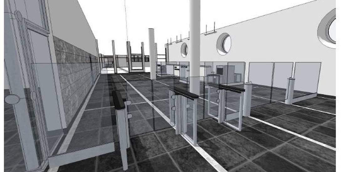 Tak będzie wyglądało wejście do Centrum Obsługi Cudzoziemca w Opolskim Urzędzie Wojewódzkim.