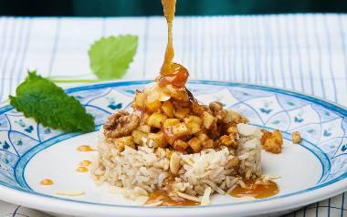Jabłkowo-orzechowy ryż brązowy [PRZEPIS]