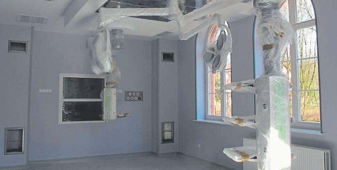 To jedna z dwóch sal bloku operacyjnego, który powstał w połczyńskim szpitalu po przebudowie
