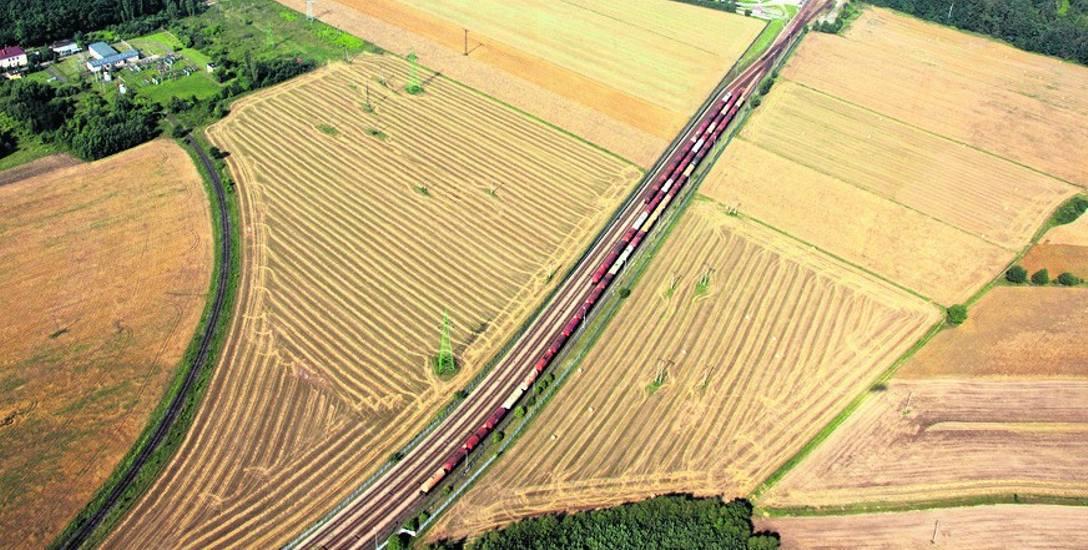 Jednym z wariantów była bocznica kolejowa obok Strefy Ekonomicznej.