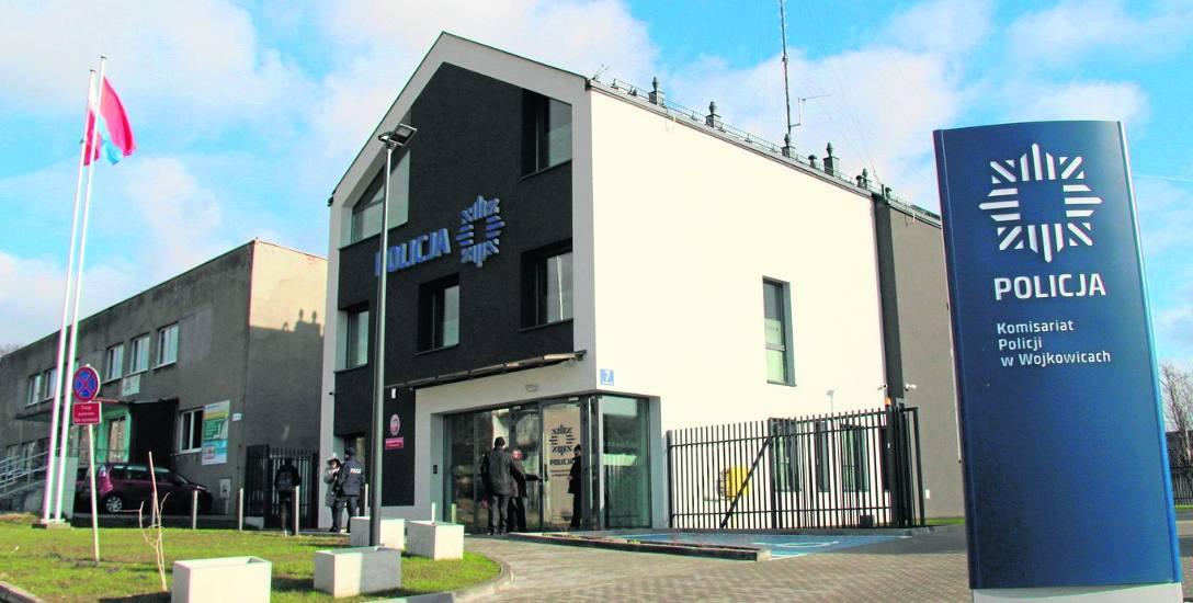 Tak prezentuje się nowy komisariat policji w Wojkowicach. Tuż obok znajduje się ośrodek zdrowia oraz miejski żłobek Figielkowo