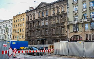 Biblioteka działała w tym budynku do 2013 r.