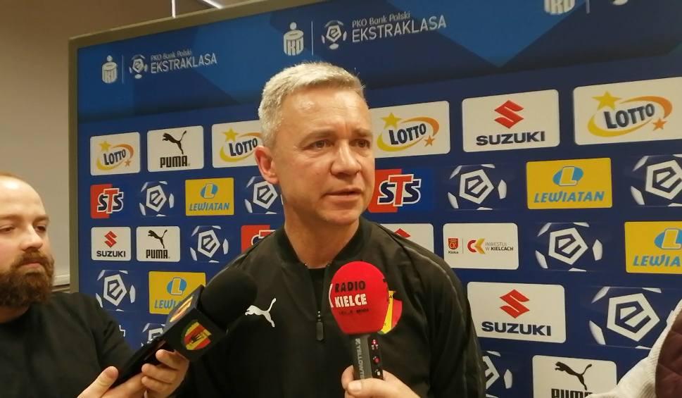 Film do artykułu: Mirosła Smyła, trener Korony Kielce: Doceniamy Wisłę Kraków, ale patrzymy na siebie (WIDEO)