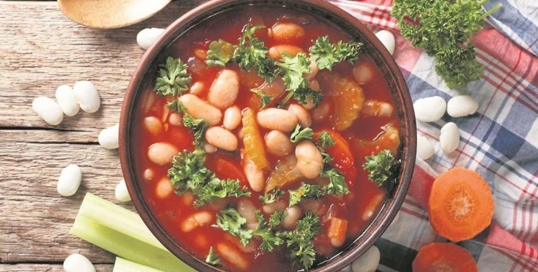 Zupa z pomidorami, fasolą i co tam jeszcze macie w lodówce