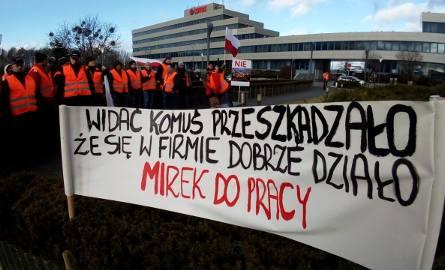 Zarząd Grupy Lotos ustępuje. Pracownicy spółki Lotos Kolej zakończyli protest [ZDJĘCIA, WIDEO]