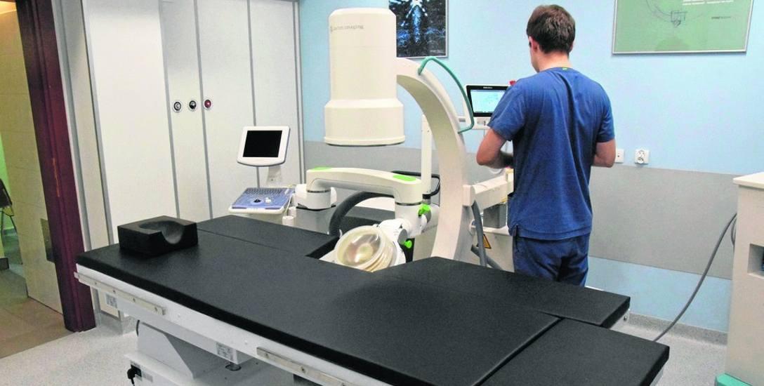 Na to nowoczesne urządzenie szpital dostał blisko 1 mln zł dotacji z Urzędu Marszałkowskiego