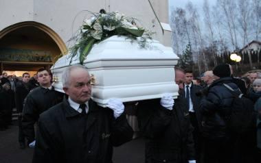 Pogrzeb Heleny Kmieć. Została pochowana w Libiążu