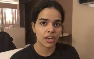 Uciekinierka z Arabii Saudyjskiej Rafah al-Qunun zabarykadowała się w pokoju na lotnisku w Bangkoku i zażądała azylu