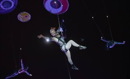 Publiczność zgromadzona na Błoniach Nadwiślańskich obejrzała spektakl oparty na głębokim współgraniu muzyki rockowej, teatru i sztuk wizualnych. Motto