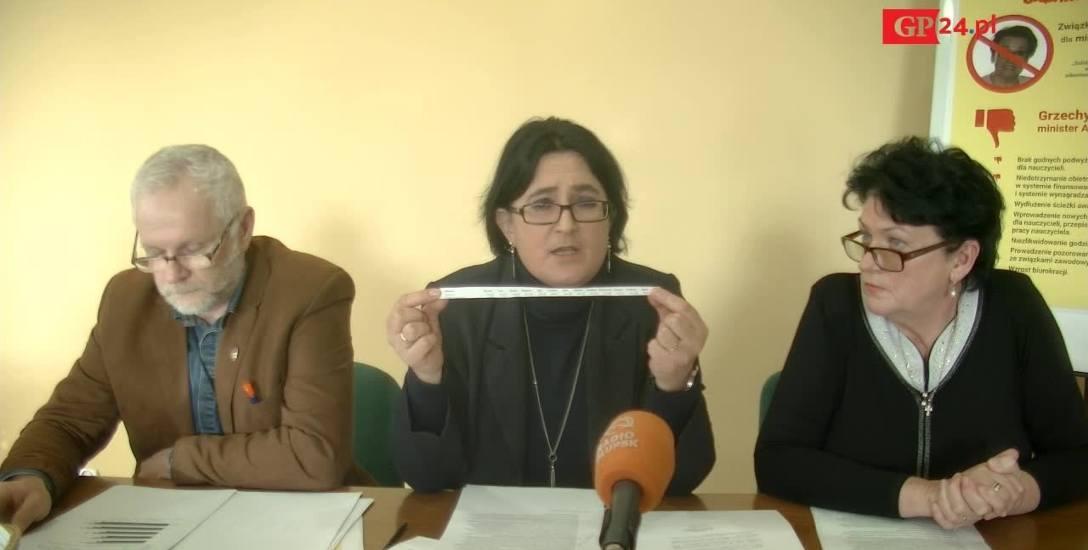 Związkowcy z oświatowej Solidarności  są zawiedzeni działaniami minister edukacji