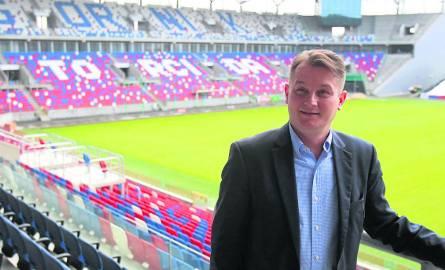 Bartosz Sarnowski został nowym szefem zabrzańskiego pierwszoligowca