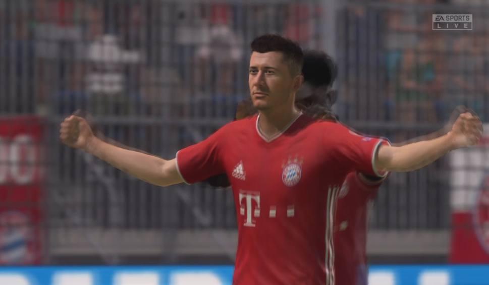Film do artykułu: Robert Lewandowski jest nie do zatrzymania także na wirtualnym boisku. Mecz Bayern - Atletico w grze FIFA 21 [WIDEO]