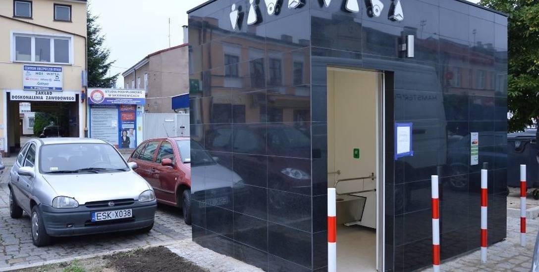 Czy opłacało się budować trzy supernowoczesne toalety w Skierniewicach