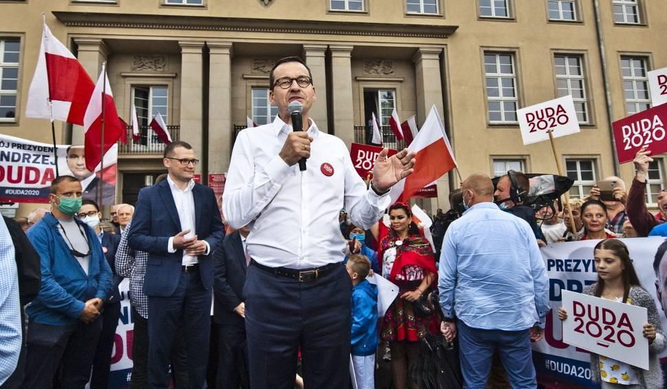 Film do artykułu: Premier Mateusz Morawiecki w Koszalinie. Było emocjonująco [ZDJĘCIA, WIDEO]