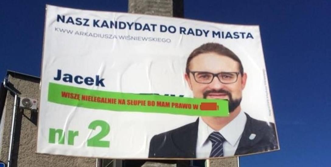 Wybory samorządowe 2018. Plakatowe potyczki wyborcze w Opolu