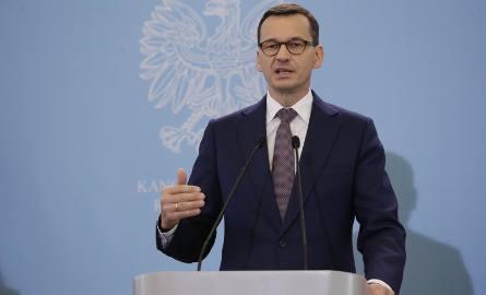 """Premier Mateusz Morawiecki wsparł Patryka Jakiego. """"Uszczelniliśmy system podatkowy, więc są pieniądze na wielkie projekty"""""""