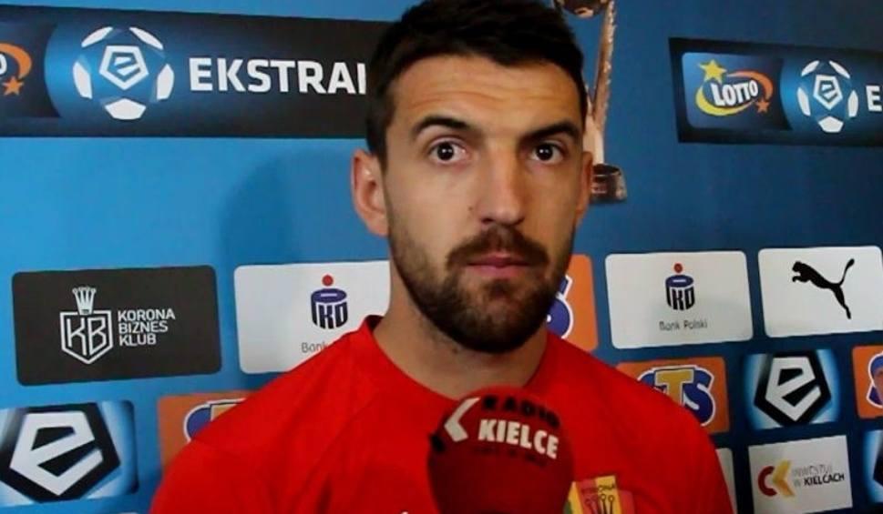 Film do artykułu: Ognjen Gnjatić, pomocnik Korony: Możemy konkurować z Wisłą Płock o dobry wynik [WIDEO]