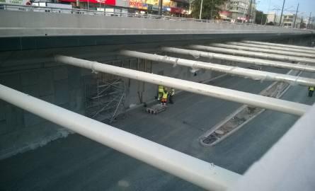 Wypadek na budowie trasy W-Z. Dwaj robotnicy ranni [ZDJĘCIA]