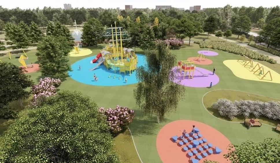 Film do artykułu: Oświęcim. Nowy park powstanie na os. Chemików. Na 7 hektarach będą ścieżki spacerowe i rowerowe, place zabaw i inne atrakcje [WIZUALIZACJE]