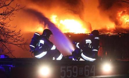 Pożar składowiska przy Szczecińskiej wybuchł w grudniu 2018