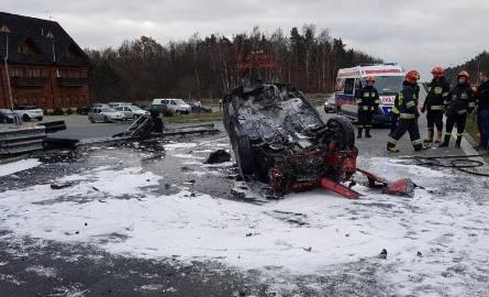 Śmiertelny wypadek w miejscowości Podlas koło Rawy Mazowieckiej.