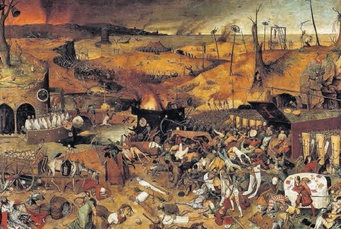 """""""Triumf śmierci"""" Pietera Bruegla"""
