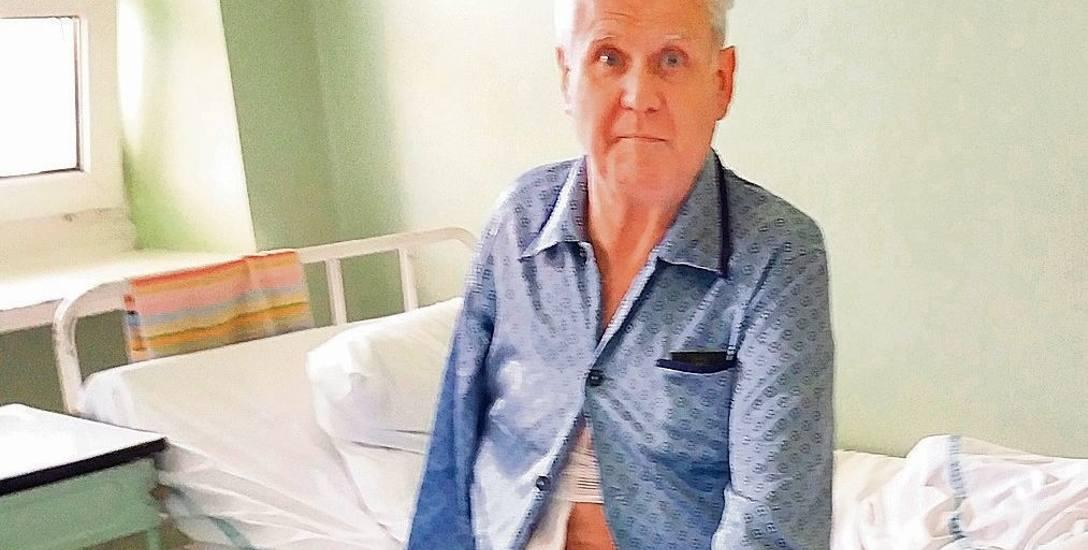 Przewiercili się przez tętnicę 65-latka