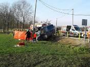 Prawie trzy promile alkoholu w organizmie miał 34-letni kierowca fiata ducato, który 25 listopada 2016 roku spowodował wypadek w Brzegu. Jedna osoba