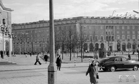 Plac Centralny w l. 60. XX w.