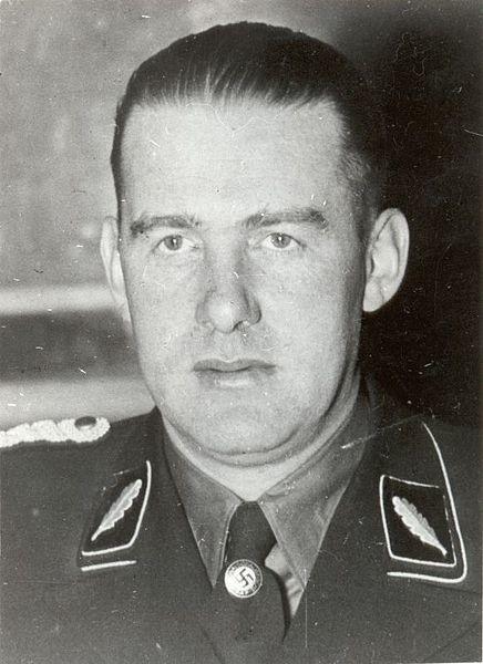 Odilo Globocnik dowodził dodatkowymi jednostkami Wehrmachtu  [fotografia z roku 1938]