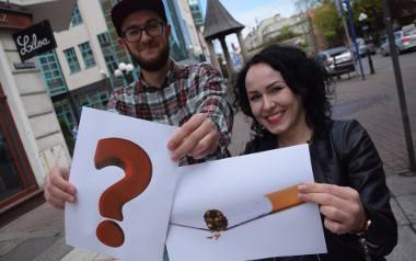 W Gorzowie można postawić nawet kilkaset skrzynek na niedopałki - mówią Paulina Szymotowicz i Kamil Bednarz,