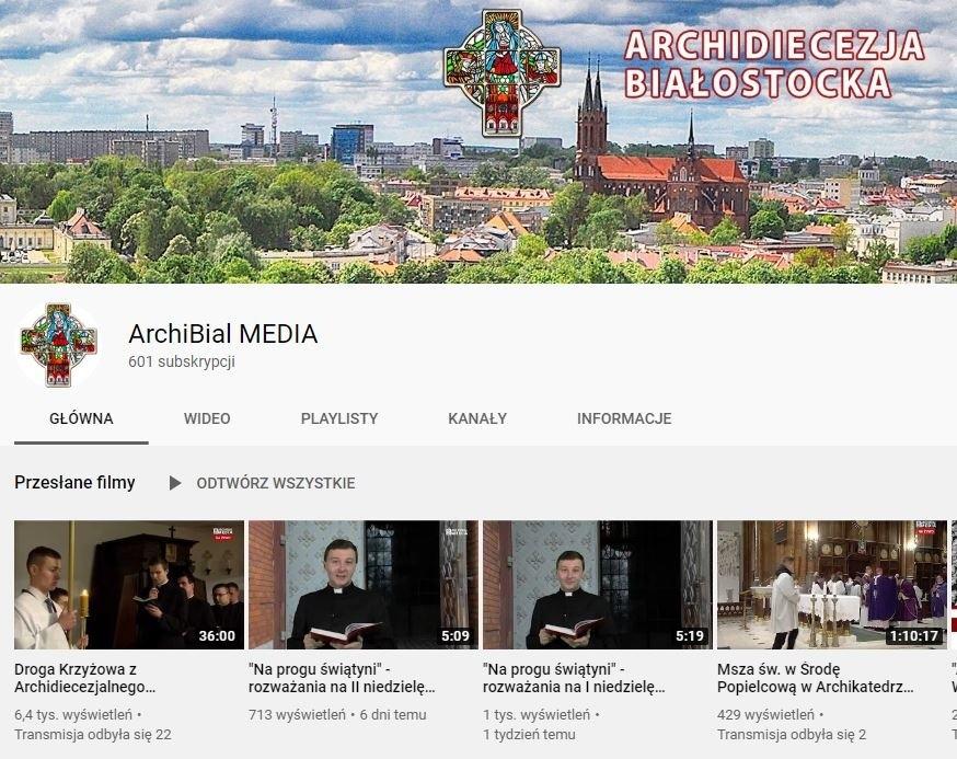 Archidiecezja Białostocka, msza na żywo