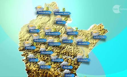 Deszcz i śnieg na Podkarpaciu w czwartek [PROGNOZA POGODY]