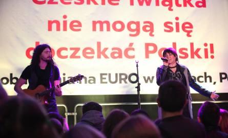 Ewa Farna i czeska drużyna zapowiedzieli Mistrzostwa Europy U21 w Tychach [ZDJĘCIA]