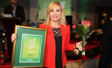 Olga Chaińska, właścicielka Expert  Fitness, Centrum Zdrowia i Aktywności 35+,Centrum Odchudzania Olgi Chaińskiej w Kielcach z laurami za pierwsze miejsce