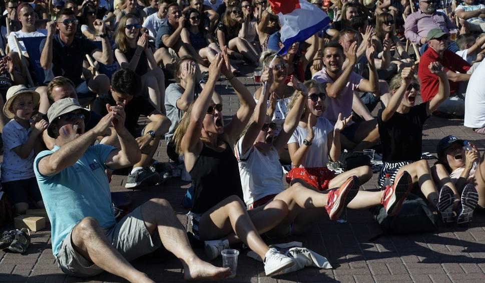 Film do artykułu: MŚ 2018. Finał Francja - Chorwacja w poznańskiej strefie kibica!