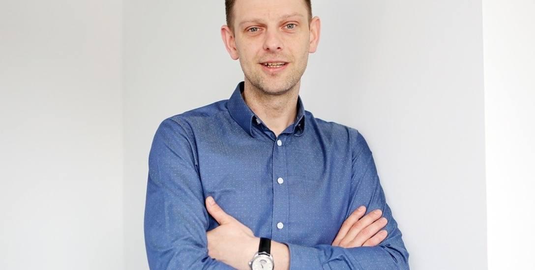 Mikołaj Marecki, adwokat, sekretarz zachodniopomorskiego  zarządu regionu Komitetu Obrony Demokracji