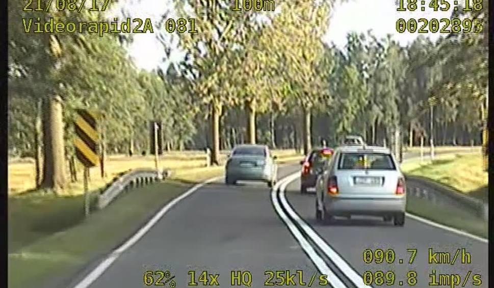Film do artykułu: DK 19. Pirat drogowy z Ukrainy szaleje na podwójnej ciągłej (wideo)
