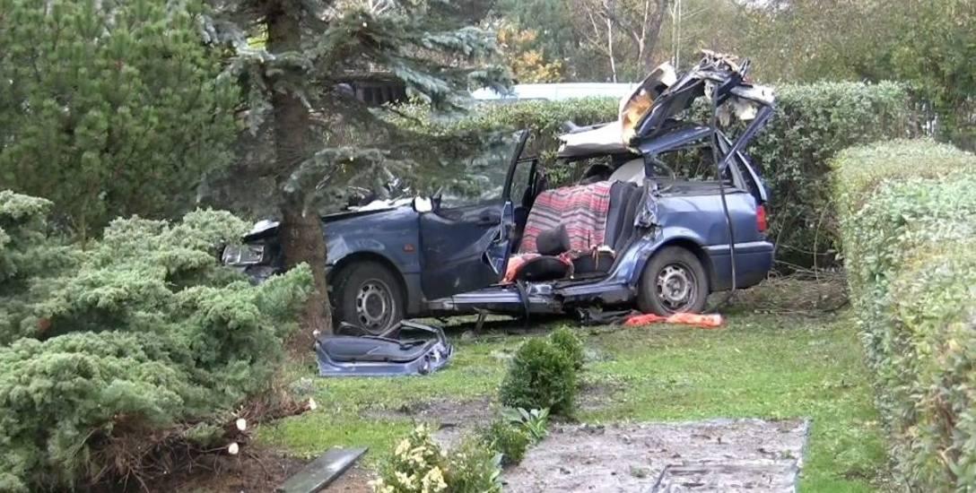 Konar zabił kierowcę w Dobrzeniu Wielkim. Drzewo było przeznaczone do wycinki, sprawę bada prokuratura