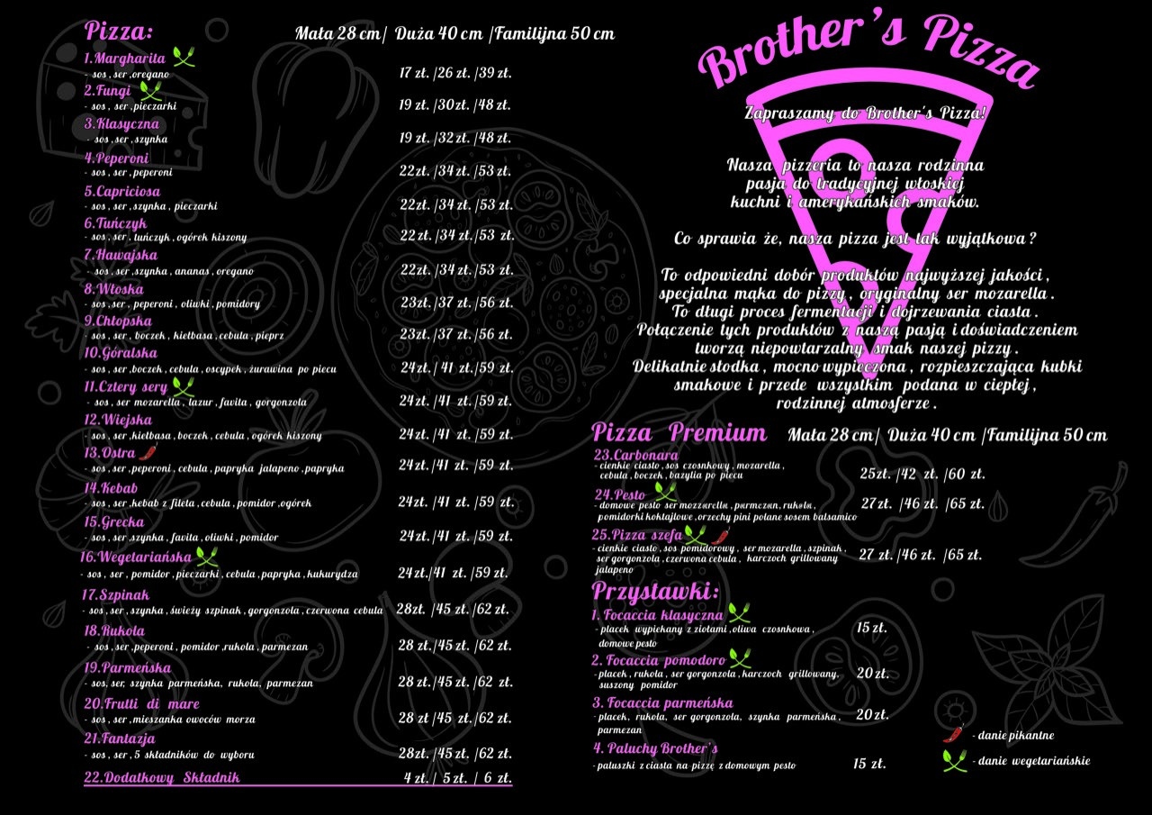 MENU BROTHER