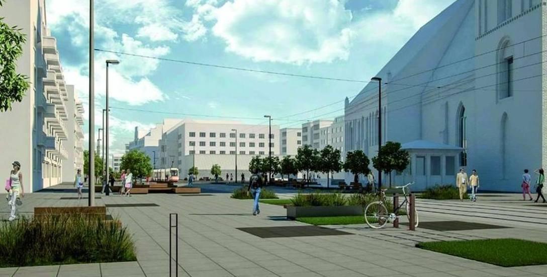 Przebudowa ul. Sikorskiego, czyli ścisłego centrum Gorzowa, oraz stworzenie tutaj deptaka pochłonie ponad 55 mln zł