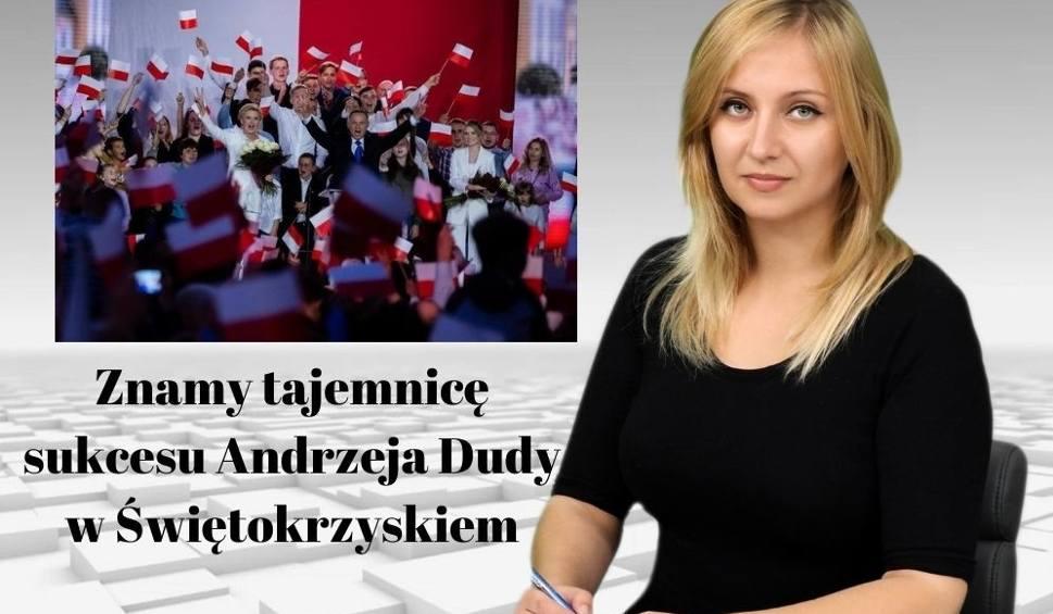 Film do artykułu: Znamy tajemnicę sukcesu Andrzeja Dudy w Świętokrzyskiem [WIADOMOŚCI]