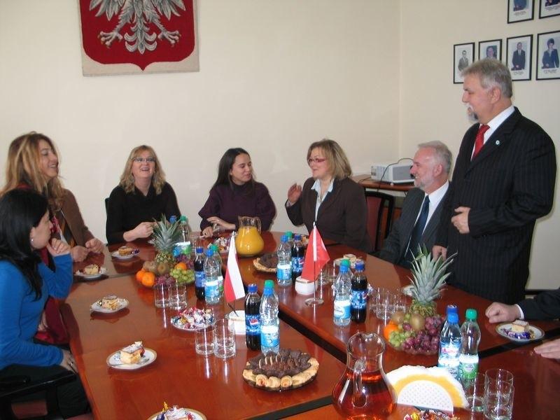 Tarnobrzeski Kopernik gości nauczycieli z Turcji