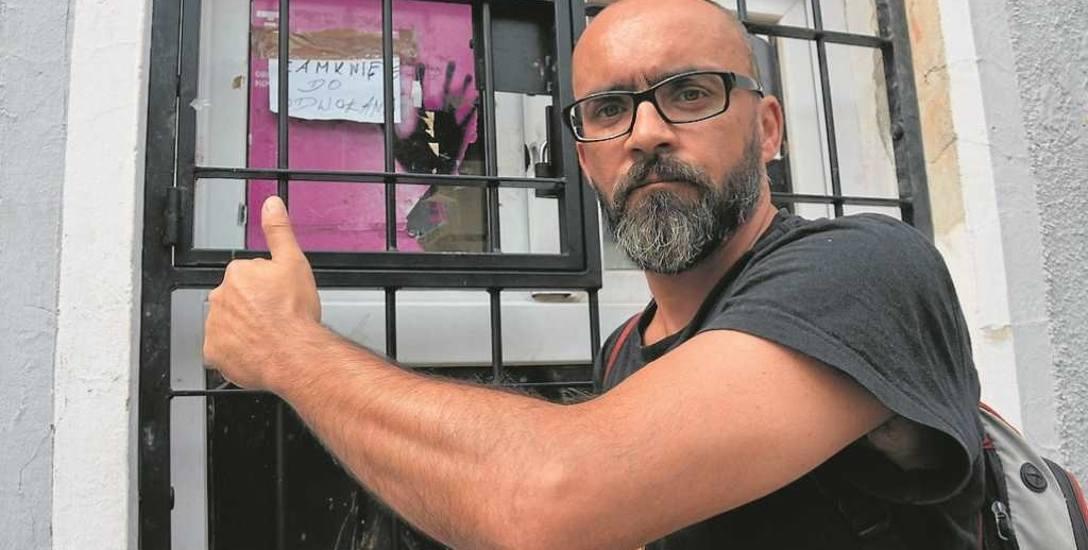 Jerzy Kowalski jest zadowolony, że służby w końcu zaczęły działać w sprawie sklepu z dopalaczami.
