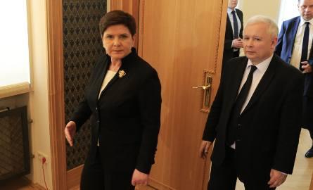 Będzie zmiana na stanowisku premiera? Jarosław Kaczyński ma zastąpić Beatę Szydło