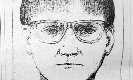 Portret pamięciowy domniemanego sprawcy kradzieży