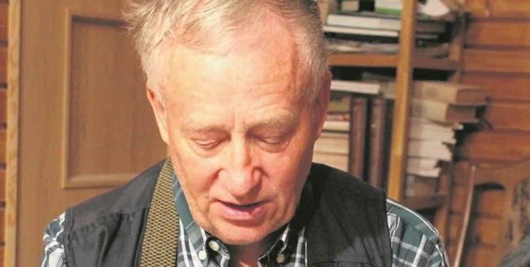 Kazimierz Rogowski pasjonuje się historią Białegostoku